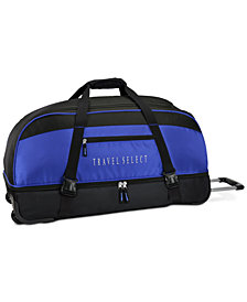 "Travel Select 30"" Rolling Duffel Bag, Created for Macy's"