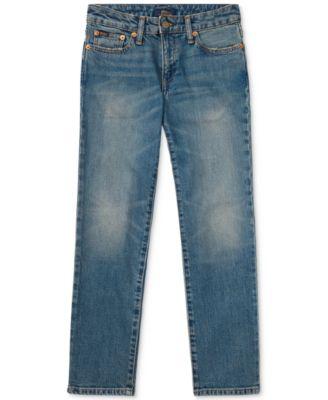 폴로 랄프로렌 보이즈 청바지 Polo Ralph Lauren Big Boys Hampton Straight-Fit Jeans,Mott Wash Stretch