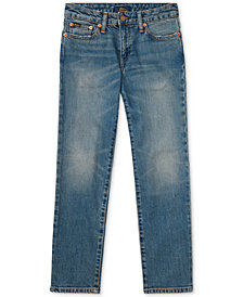 Ralph Lauren Big Boys Hampton Straight-Fit Jeans