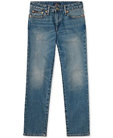 Polo Ralph Lauren Big Boys Hampton Straight-Fit Jeans