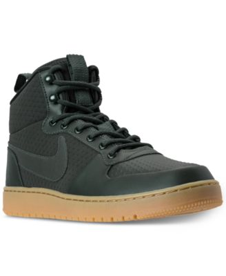 nike men s court borough mid winter outdoor casual sneakers from rh macys com