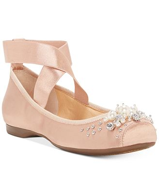 Jessica Simpson Mineah Pearl Ballet Flats