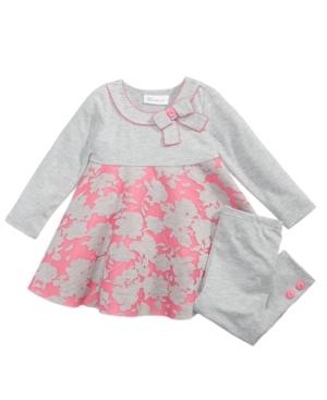 Bonnie Jean 2Pc AirMesh ALine Tunic  Leggings Set Toddler Girls (2T5T)