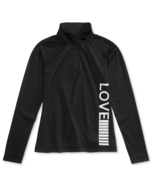 Ideology QuarterZip Love Active Jacket Big Girls Created for Macys
