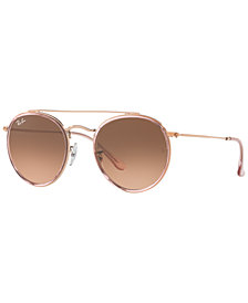 Ray-Ban Sunglasses, RB3647N ROUND DOUBLE BRIDGE