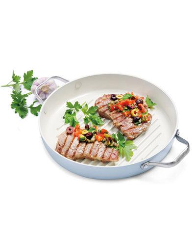 Greenpan Padova Ceramic Non Stick 11 Quot Round Grill Pan