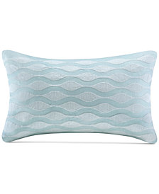 "Harbor House Maya Bay 200-Thread Count 12"" x 20"" Oblong Decorative Pillow"