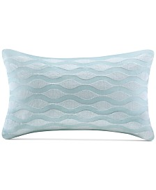 "Harbor House Maya Bay 200-Thread Count 12"" x 20"" Oblong Decorative Pillow"