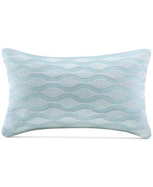 "Harbor House Maya Bay 200-Thread Count 12"" x 20"" Oblong Decorative Pillow Bedding 5214551"