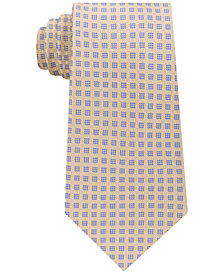 Michael Kors Men's Small Stitched Neat Silk Tie