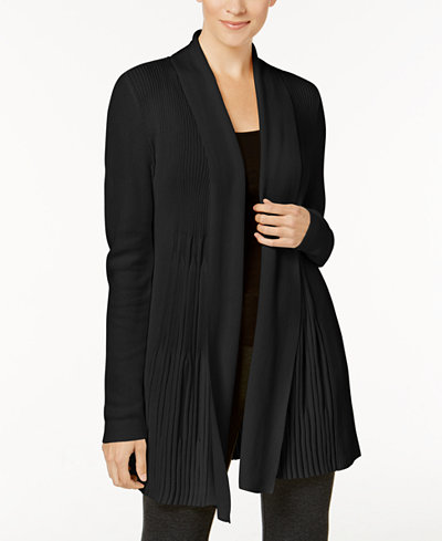 Charter Club Ribbed Shawl Cardigan, Created for Macy's