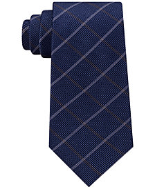 Michael Kors Men's Stonehurst Grid Silk Tie