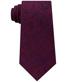 Michael Kors Men's Medium Paisley Silk Tie