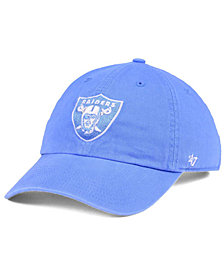 '47 Brand Women's Oakland Raiders Pastel CLEAN UP Cap