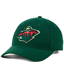 adidas Minnesota Wild Core Basic Adjustable Snapback Cap