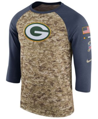 green bay packers salute to service t shirt
