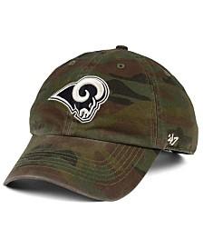 '47 Brand Los Angeles Rams Regiment CLEAN UP Cap