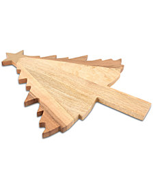 Thirstystone Tree-Shaped Wood Serving Board