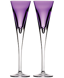 Waterford W Collection Flutes, Set Of 2