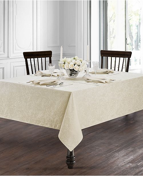 Waterford Peony Ivory Table Linens Collection