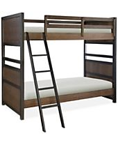 Fulton County Kids Twin over Twin Bunk Bed