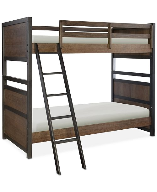Furniture Fulton County Kids Twin Over Twin Bunk Bed Furniture