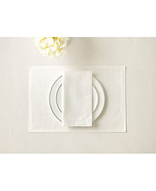 Waterford Essentials Cordelia White Placemat