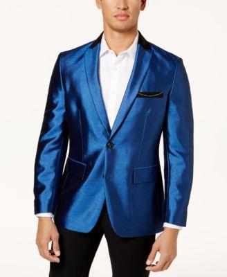 I.N.C. Men's Shiny Blazer, Created for Macy's