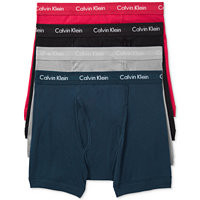 4-Pack Calvin Klein Mens Classic Boxer Briefs 4-Pack