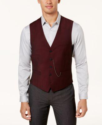 INC Men's Slim-Fit Vest, Created for Macy's