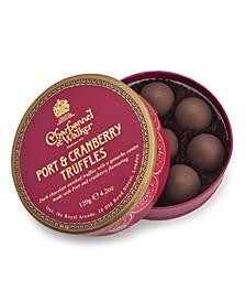 Port & Cranberry Truffles