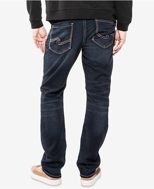 32e57fc0f50 Men s Grayson Easy Fit Straight Stretch Jeans  Silver Jeans Co. Men s Grayson  Easy Fit Straight Stretch Jeans ...