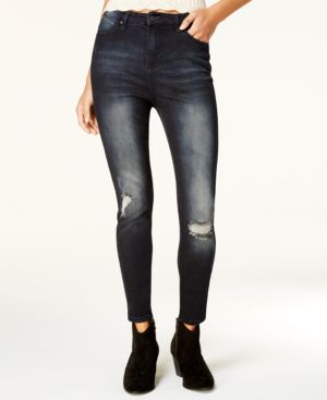 Celebrity Pink Juniors' High Rise Skinny Ankle Jeans 6530592