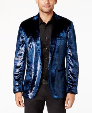 I.n.c. Men's Velvet Blazer, Created for Macy's