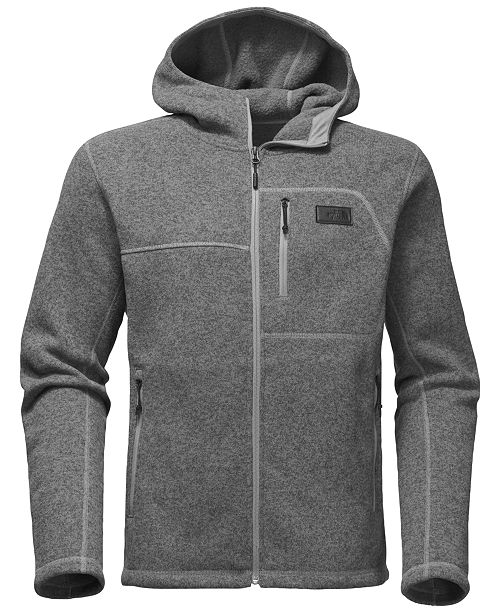 a2d5b73eda7e The North Face Men s Gordon Lyons Sweater-Knit Zip Hoodie   Reviews ...