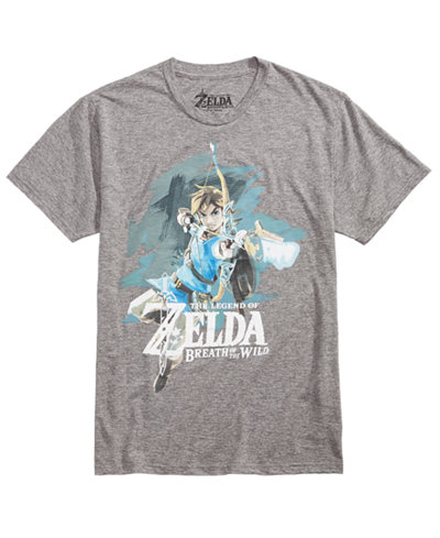 Bioworld Men's Zelda Graphic-Print T-Shirt