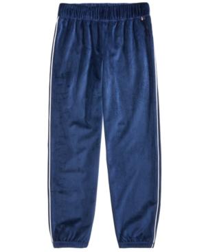Tommy Hilfiger Velour Jogger Pants Big Girls (716)