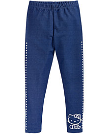 Hello Kitty Toddler Girls Denim-Look Leggings