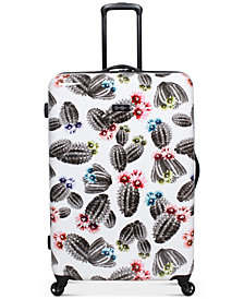 "Jessica Simpson Cactus Printed 29"" Hardside Spinner Suitcase"