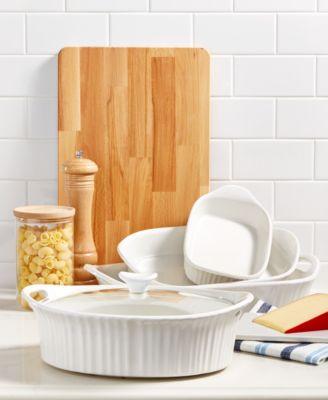 French White 2-Pc. Bakeware Set