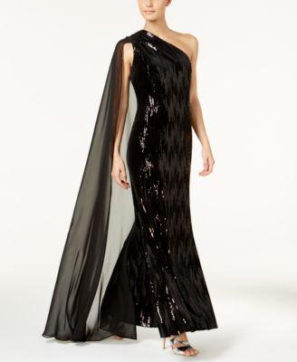 Formal Cape Dresses