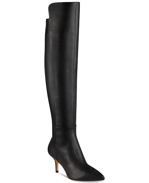 9e72ad4c93de Marc Fisher Adana Kitten Heel Over-The-Knee Boots   Reviews - Boots ...