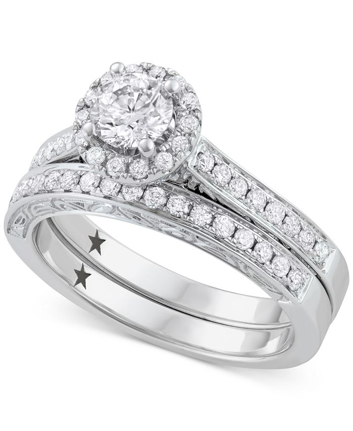 Macy's Star Signature Diamond - ™ Bridal Set (1 ct. t.w.) in 14k White Gold