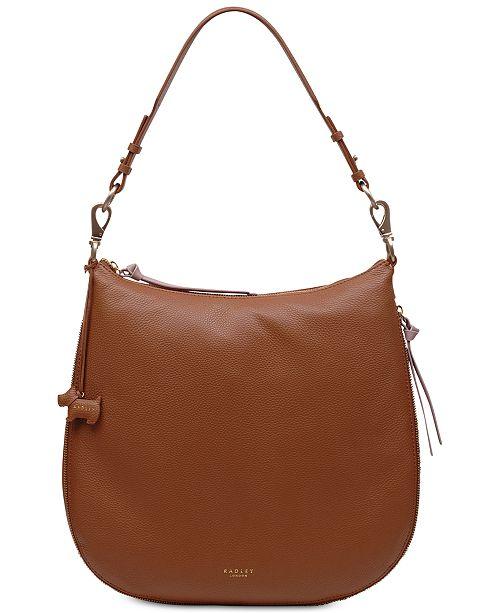 ed7a89b386b3 Radley London Pudding Lane Zip-Top Large Hobo - Handbags ...