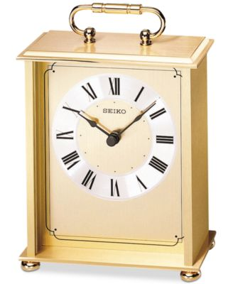 Seiko Brass Desk U0026 Table Carriage Clock