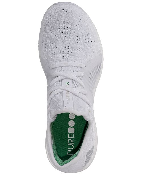 492b8913611d4 adidas Women s PureBoost X Element Running Sneakers from Finish Line ...