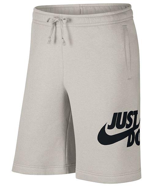 Nike Men s Sportswear Just Do It Shorts - Shorts - Men - Macy s 9c5da207277ce