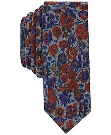 Original Penguin Men's Montini Floral Skinny Tie