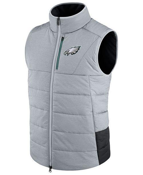 sports shoes 64a8a fb8bf Nike Men's Philadelphia Eagles Sideline Vest & Reviews ...