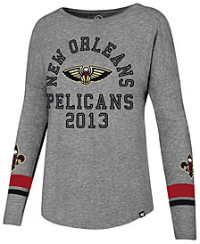'47 Brand Women's New Orleans Pelicans Encore Long Sleeve T-Shirt